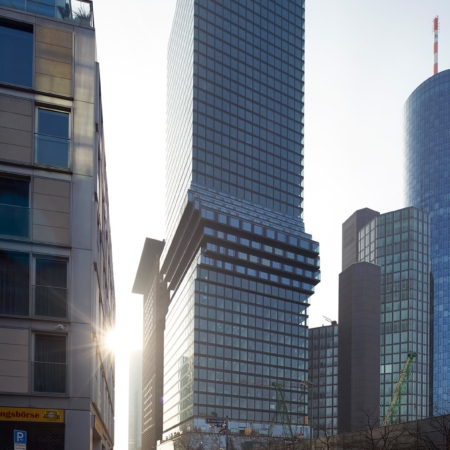 BIG - Bjarke Ingels Group, Kopenhagen, Dänemark: OmniTurm, Frankfurt/Main, Deutschland