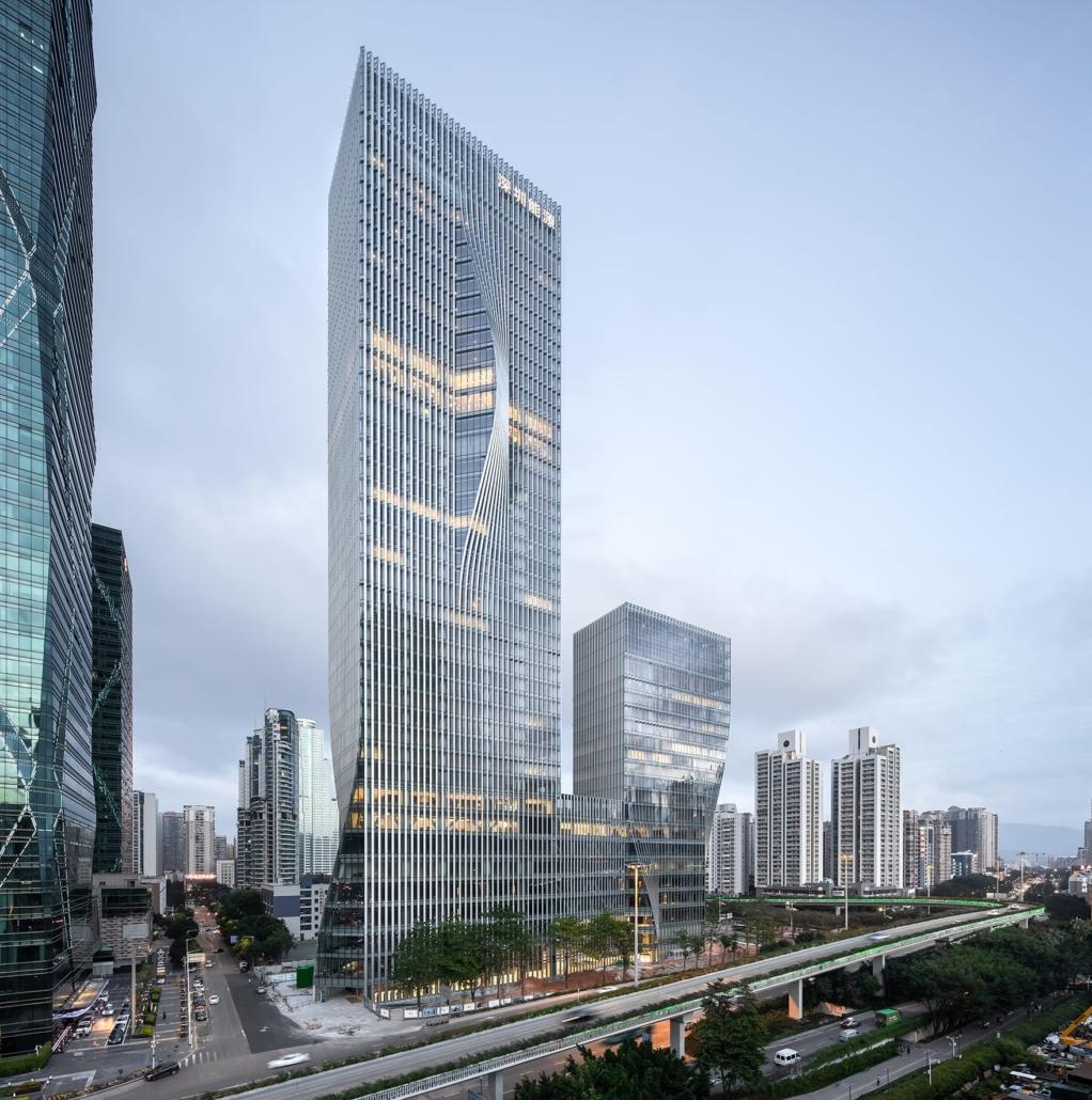 BIG - Bjarke Ingels Group, Kopenhagen, Dänemark: Shenzhen Energy Headquarters, Shenzhen, China