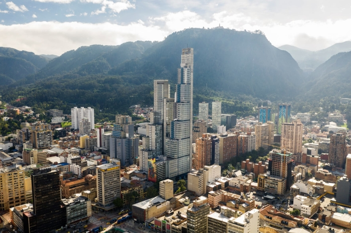 Estudio de Arquitectura Alonso Balaguer, Barcelona, Spanien: Bacatá Tower, Bogotá, Kolumbien