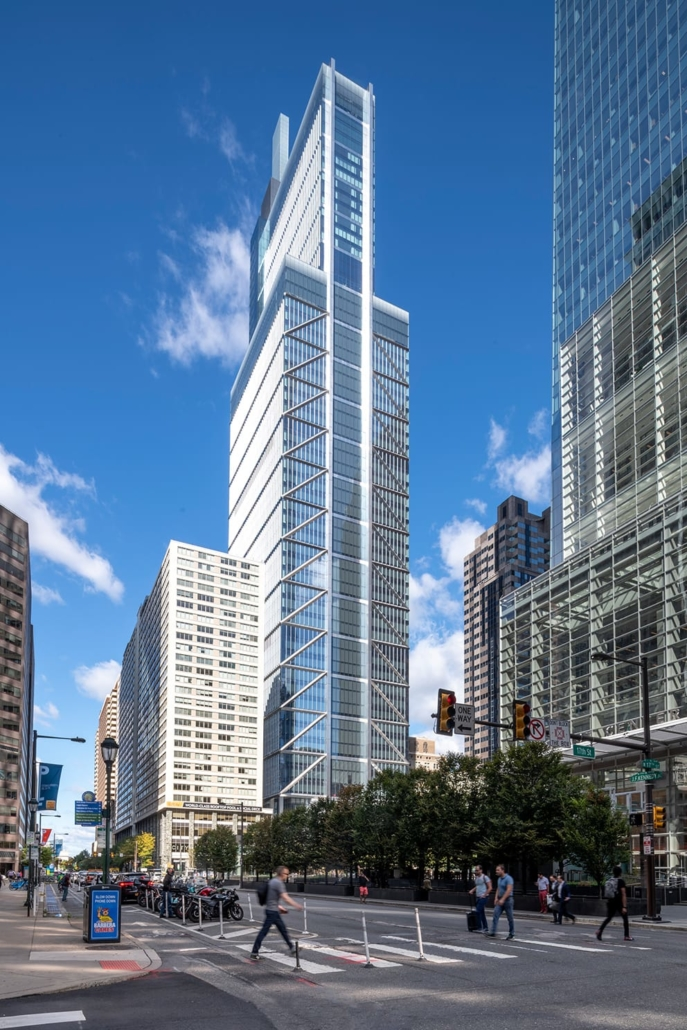 Foster + Partners, London, Großbritannien: Comcast Technology Center, Philadelphia, USA