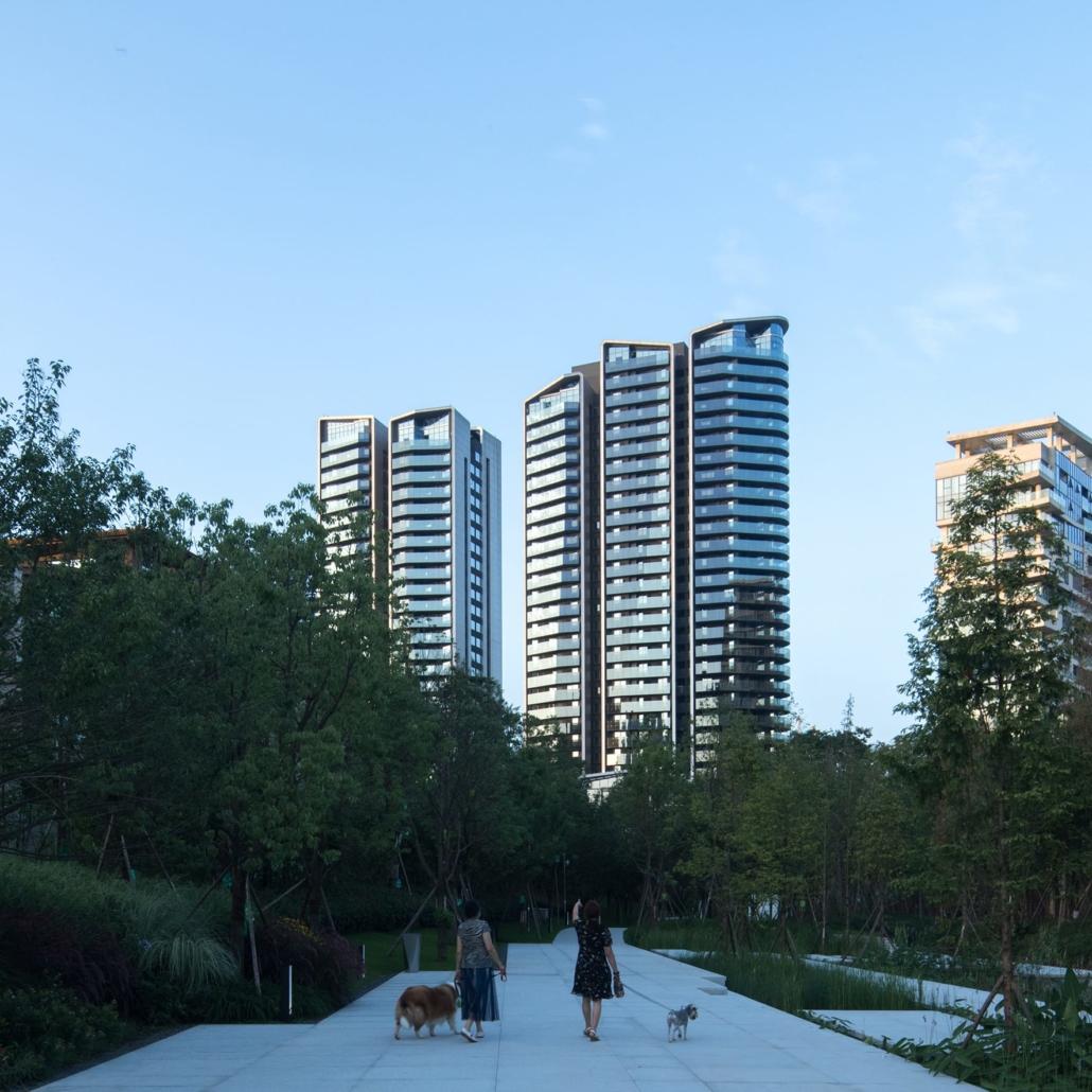 GRAFT, Berlin, Deutschland: Luxe Lake Towers, Chengdu, China