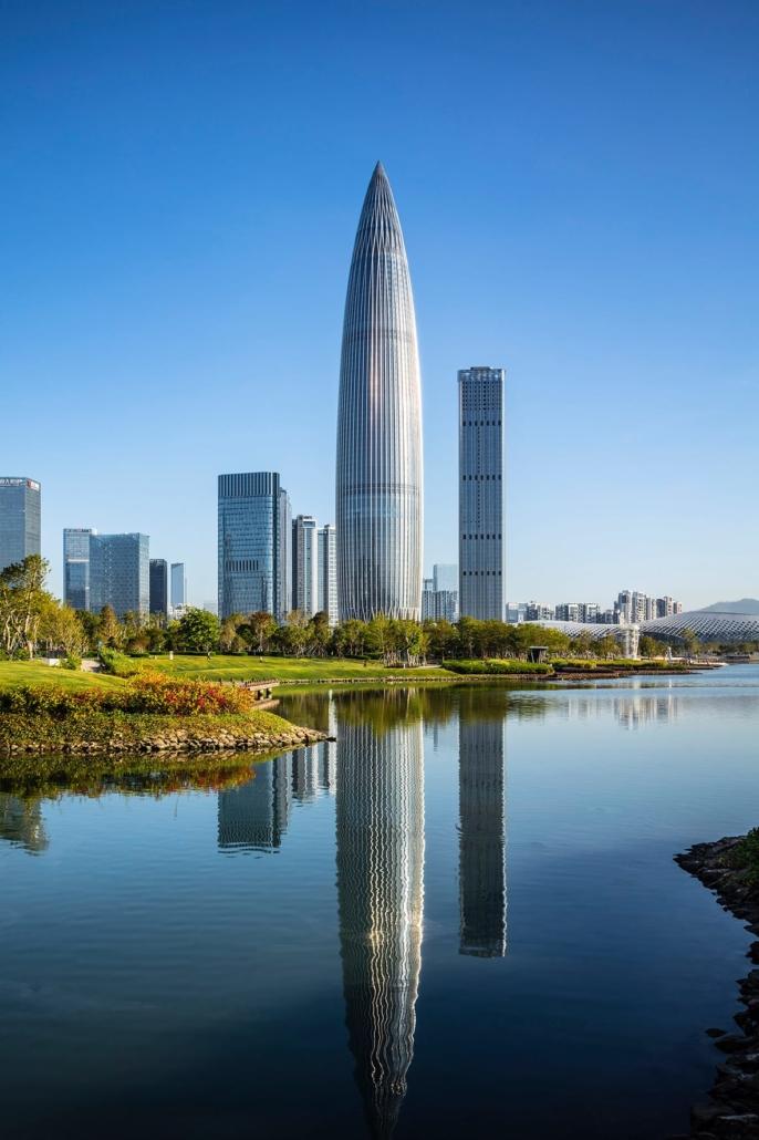 Kohn Pedersen Fox, Associates, New York City, New York, USA: China Resources Tower, Shenzhen / China