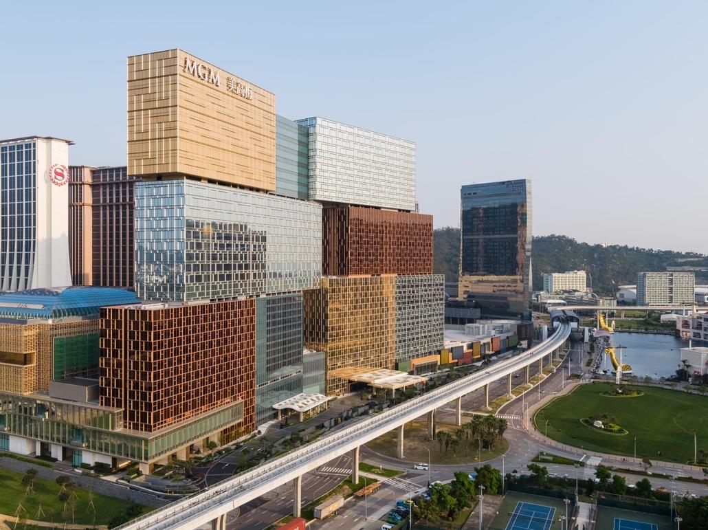 Kohn Pedersen Fox, Associates, New York City, New York, USA: MGM Cotai, Macau, China