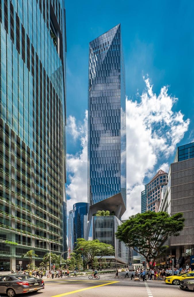 Kohn Pedersen Fox, Associates, New York City, New York, USA: Robinson Tower, Singapur