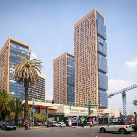 Legorreta, Mexiko-Stadt, Mexiko: Miyana-, Torre Chapulín, Mexiko-Stadt, Mexiko