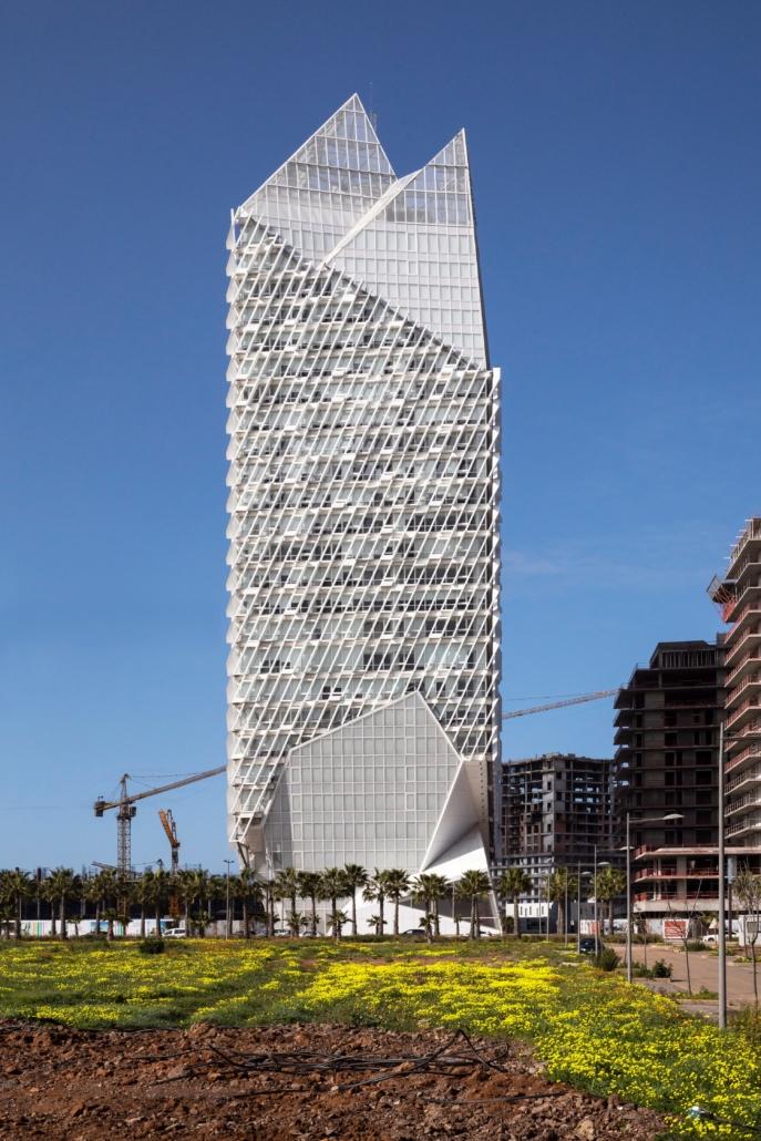 Morphosis Architects, Culver City, CA, USA, : Casablanca Finance City Tower, Casablanca, Marokko