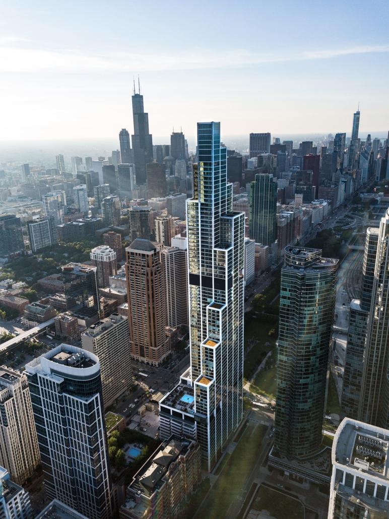 Rafael Viñoly Architects, New York City, New York, USA: NEMA Chicago, Chicago, USA